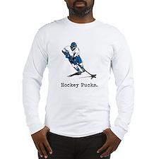 Hockey Pucks Long Sleeve T-Shirt