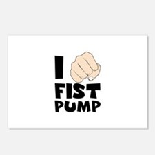 I FIST PUMP Postcards (Package of 8)