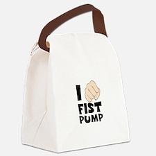 I FIST PUMP Canvas Lunch Bag