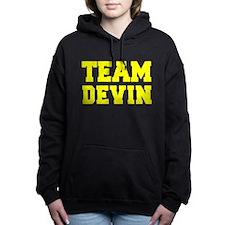 TEAM DEVIN Women's Hooded Sweatshirt