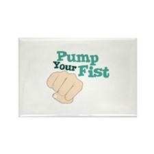PUMP YOUR FIST Magnets