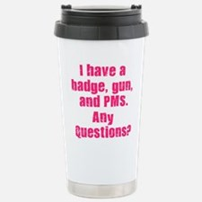 Police wife Travel Mug