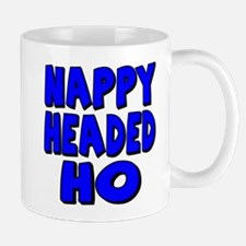 Nappy Headed Ho Blue Design Mug