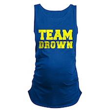 TEAM DROWN Maternity Tank Top