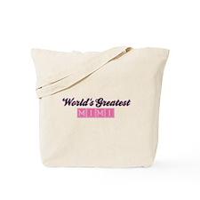World's Greatest Mimi (1) Tote Bag
