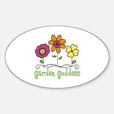 Garden Goddess Decal