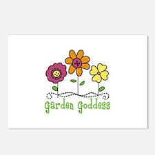 Garden Goddess Postcards (Package of 8)