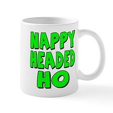 Nappy Headed Ho Green Design Mug
