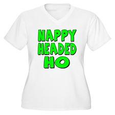 Nappy Headed Ho Green Design T-Shirt