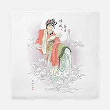 Chinese Moon Goddess Queen Duvet