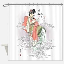 Chinese Moon Goddess Shower Curtain
