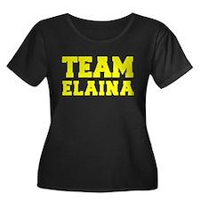 TEAM ELAINA Plus Size T-Shirt