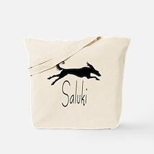 Art Deco Saluki Tote Bag