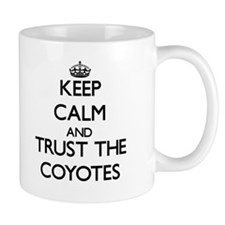 Keep calm and Trust the Coyotes Mugs