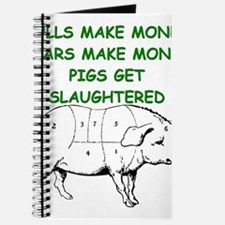 pigs get slaughtered Journal