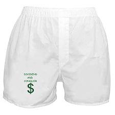 dividends Boxer Shorts