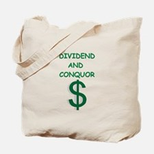 dividends Tote Bag