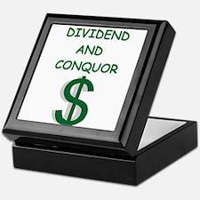 dividends Keepsake Box
