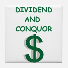dividends Tile Coaster