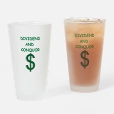 dividends Drinking Glass