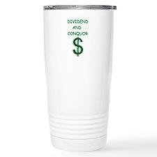 dividends Travel Mug