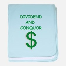 dividends baby blanket