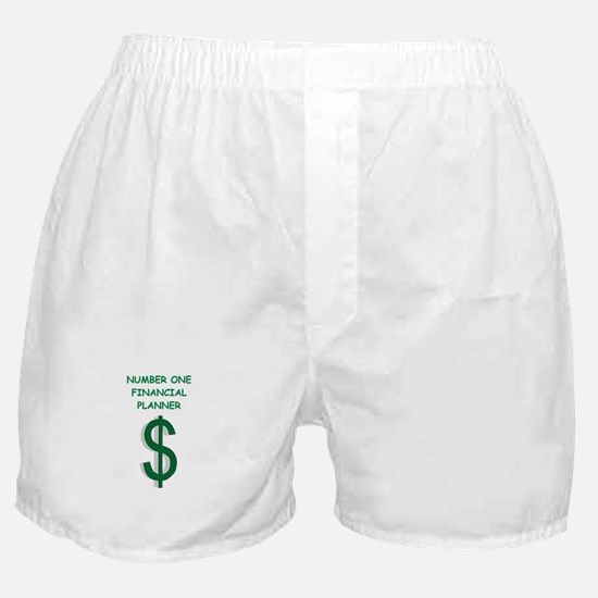 financial planning Boxer Shorts