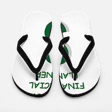 financial planning Flip Flops