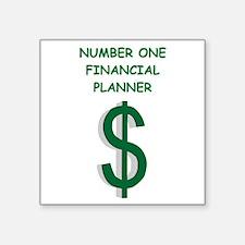 financial planning Sticker