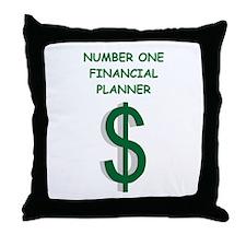 financial planning Throw Pillow