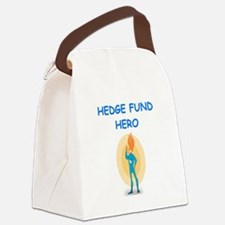 hedge fund Canvas Lunch Bag