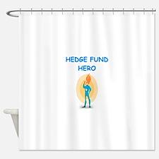 hedge fund Shower Curtain