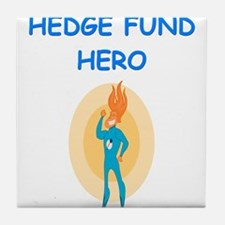 hedge fund Tile Coaster