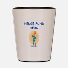 hedge fund Shot Glass