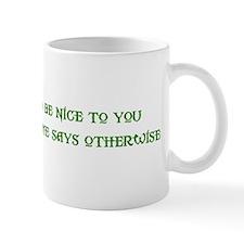 Nice Troll Small Mug