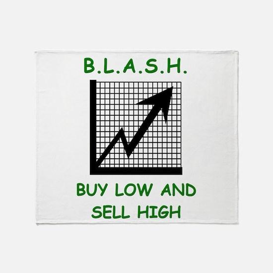 blash Throw Blanket