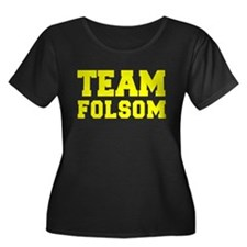 TEAM FOLSOM Plus Size T-Shirt