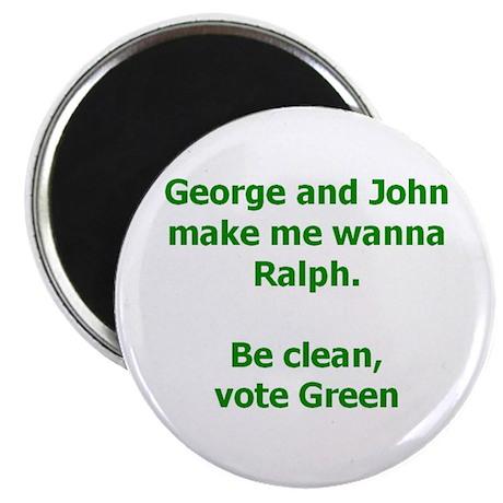 Vote Green Magnet