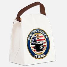 CV-66 USS America Canvas Lunch Bag