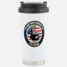 CV-66 USS America Travel Mug