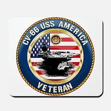 CV-66 USS America Mousepad