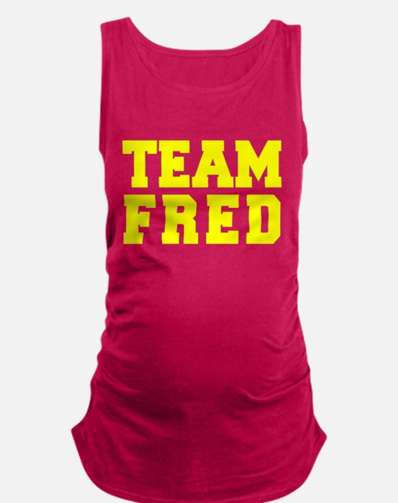 TEAM FRED Maternity Tank Top