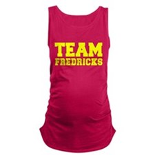 TEAM FREDRICKS Maternity Tank Top