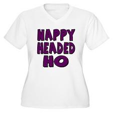 Nappy Headed Ho Purple Design T-Shirt