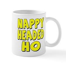 Nappy Headed Ho Yellow Design Mug