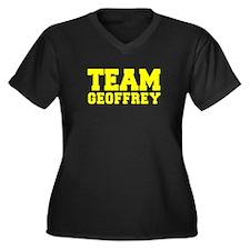 TEAM GEOFFREY Plus Size T-Shirt