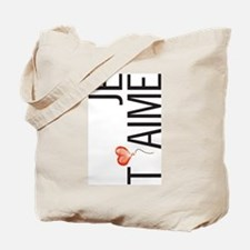 Je Taime Tote Bag