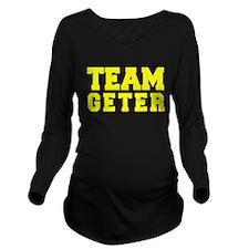 TEAM GETER Long Sleeve Maternity T-Shirt