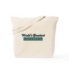 World's Greatest Grampa (2) Tote Bag