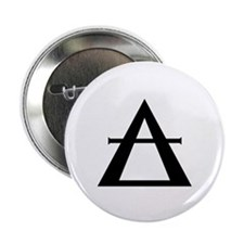 """Alchemical Symbol for """"AIR"""" Button"""